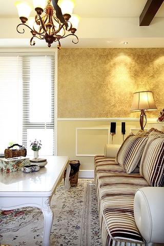 100平米三室两厅欣赏客厅摆件