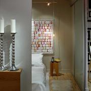 现代简约风公寓卧室一景