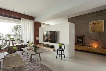 客厅窗帘装饰效果图 复古简约风来袭