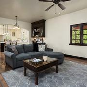 简欧风格效果图客厅沙发
