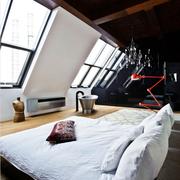 不拘泥现在的复古混搭欣赏卧室设计