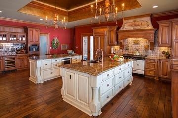 美式别墅装饰欣赏厨房