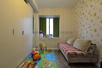 135平简约三居室欣赏儿童房飘窗