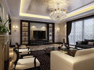 118平新的奢华住宅欣赏客厅效果