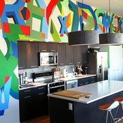 后现代材料利用住宅欣赏厨房效果