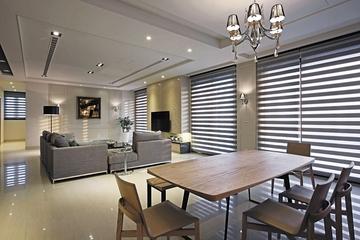 开发现代品质住宅欣赏客餐厅