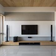 日式淡雅住宅欣赏客厅全景