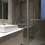 简约公寓装修效果图卫浴间