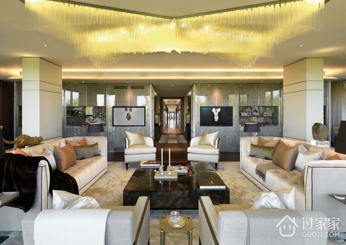 奢华现代风格别墅家具摆设