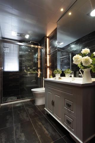新中式风格家居欣赏卫生间