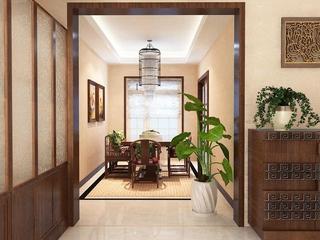 新中式两居室欣赏