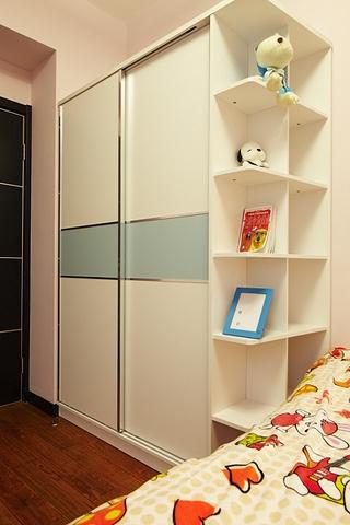 89平简约三室两厅欣赏儿童房摆件