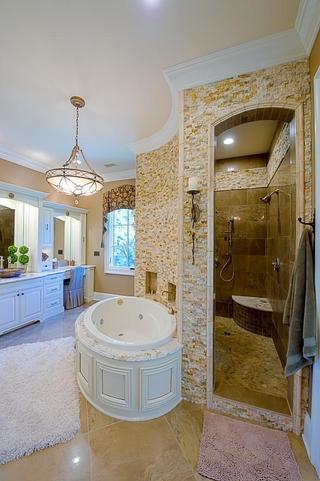 美式风格别墅套图浴室