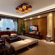 122平新中式三居室欣赏