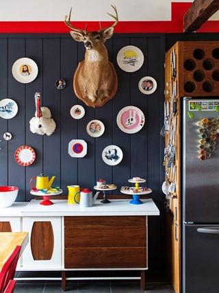 缤纷色彩混搭住宅欣赏厨房
