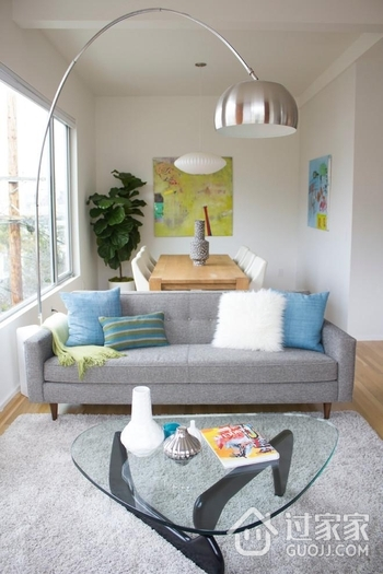 现代小户型客厅套图欣赏
