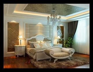 122平欧式奢华大宅欣赏卧室效果