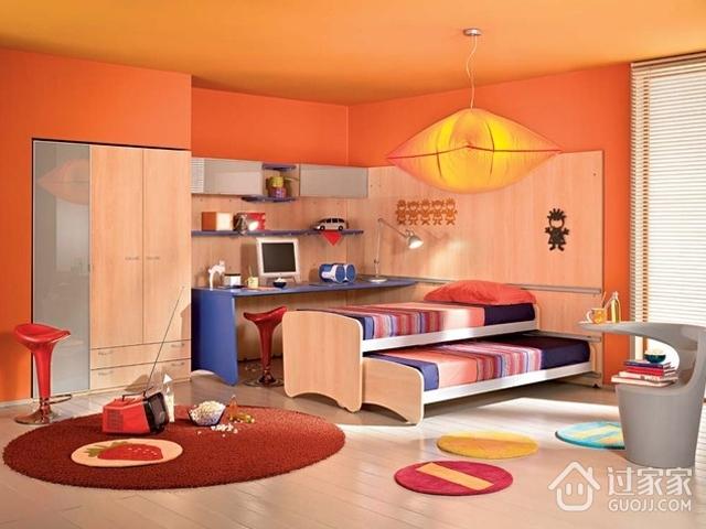 奇妙色彩打造混搭住宅欣赏