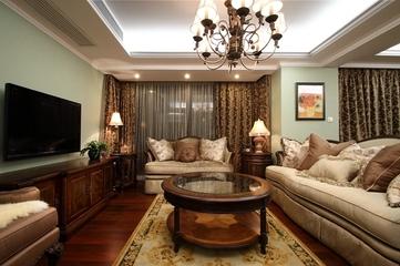 130平美式四室两厅欣赏