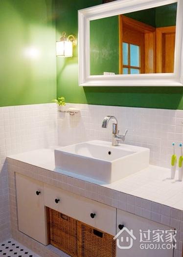 94平宜家装饰风格欣赏洗手间