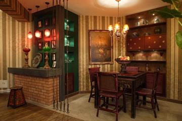 东南亚风格住宅欣赏餐厅餐桌