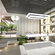 97平现代住宅欣赏餐厅灯