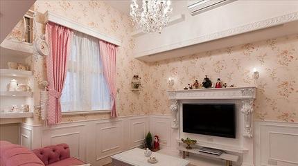 粉丝住宅小一居欣赏客厅