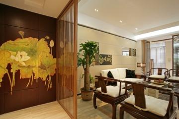 现代房屋客厅一角装修设计图