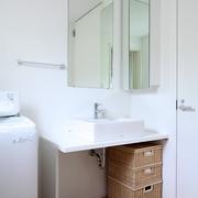 89平日式风格别墅欣赏洗手间