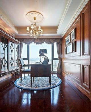 法式奢华住宅欣赏书房