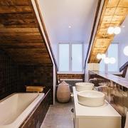 158平简约温馨别墅欣赏卫生间设计