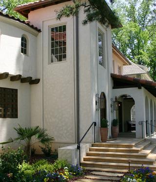 重装260平美式别墅欣赏庭院