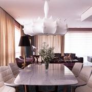 让人留恋的奢华公寓欣赏餐厅效果