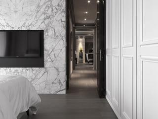灰色现代空间住宅欣赏卧室局部