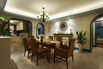 98平米混搭舒适住宅欣赏餐厅