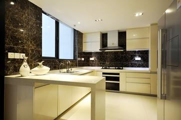 书香门第现代复式欣赏厨房