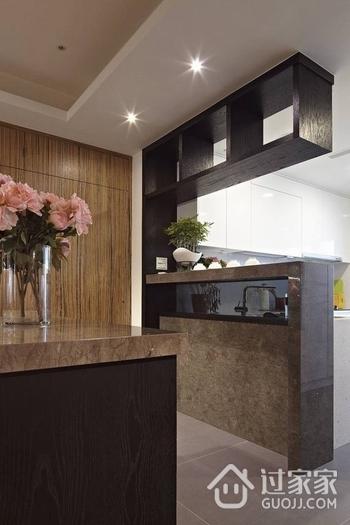 102平简约雅致三居室欣赏厨房吧台