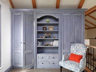 美式舒适度假小屋欣赏卧室陈设