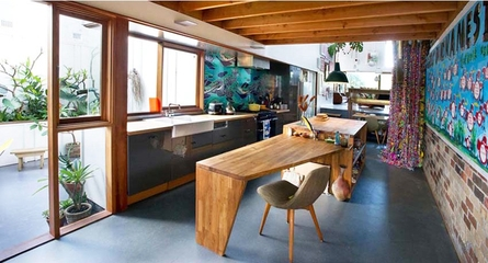 日式风格极简住宅欣赏厨房