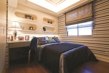 三室两厅新古典魅力住宅欣赏儿童房设计