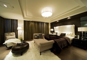 新古典别墅装修卧室