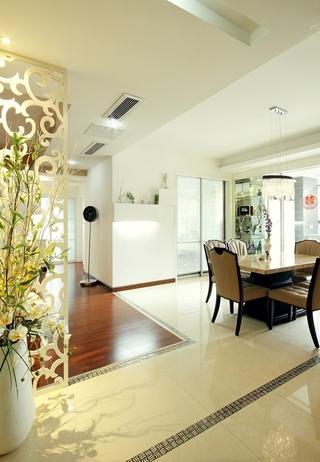 客厅隔断设计效果图 浪漫家居生活