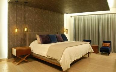128平现代复式住宅欣赏卧室效果