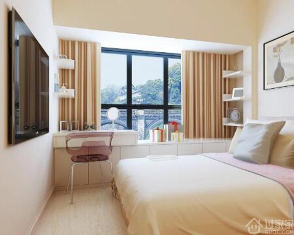 想让女生幸福,把她的卧室装修成以下卧室装修效果图就可以了!
