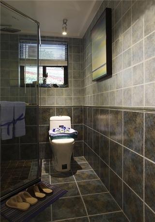 卫生间厚重复古砖展示 防滑兼耐看