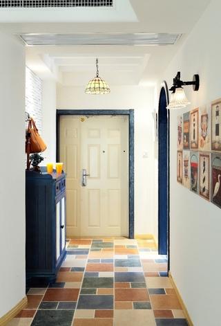 白色地中海两居室欣赏室内门