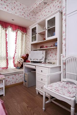 86平地中海三居室欣赏儿童房