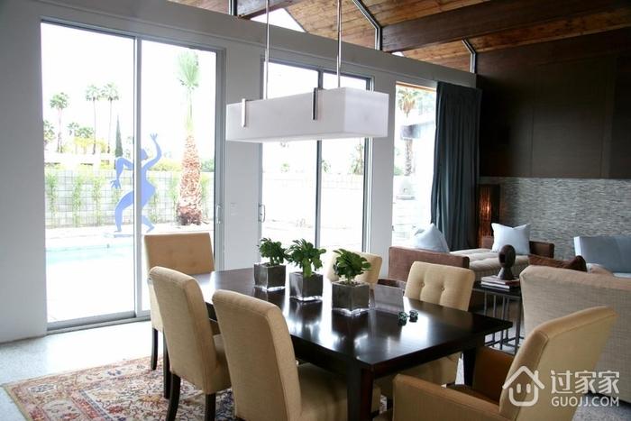 轻奢现代风格装饰图餐厅