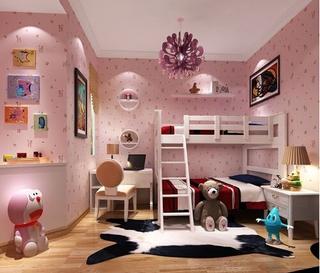 77平米简约风格住宅欣赏儿童房
