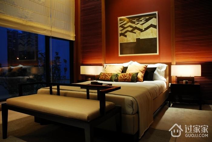 新中式风格床头背景